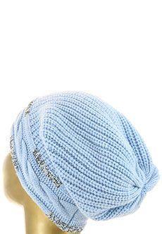 Шапка  - Голубой цвет
