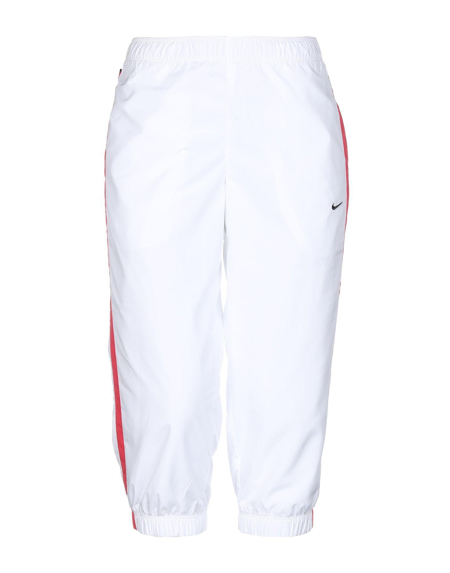 Брюки-капри  - Белый цвет