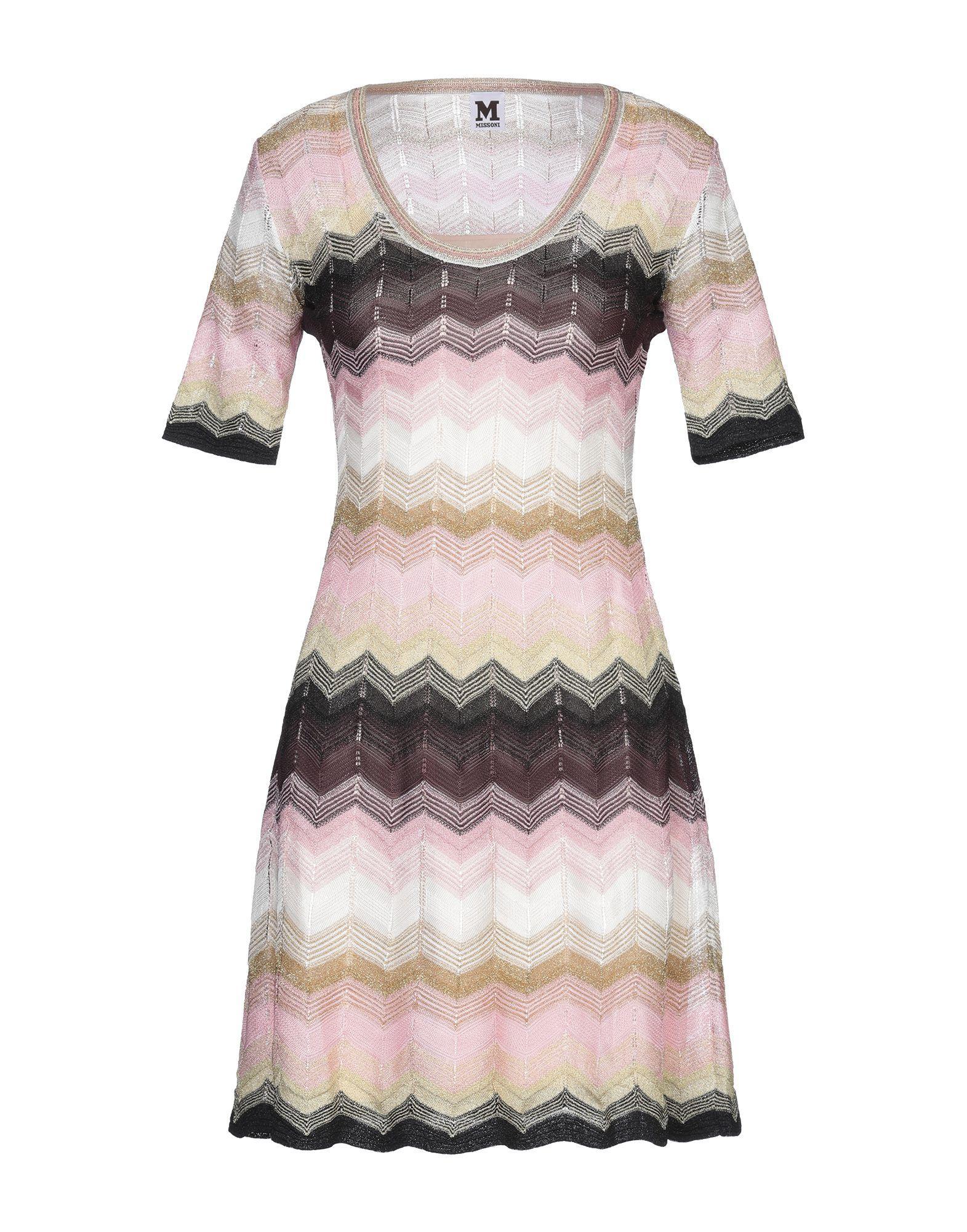 Короткое платье  - Розовый цвет