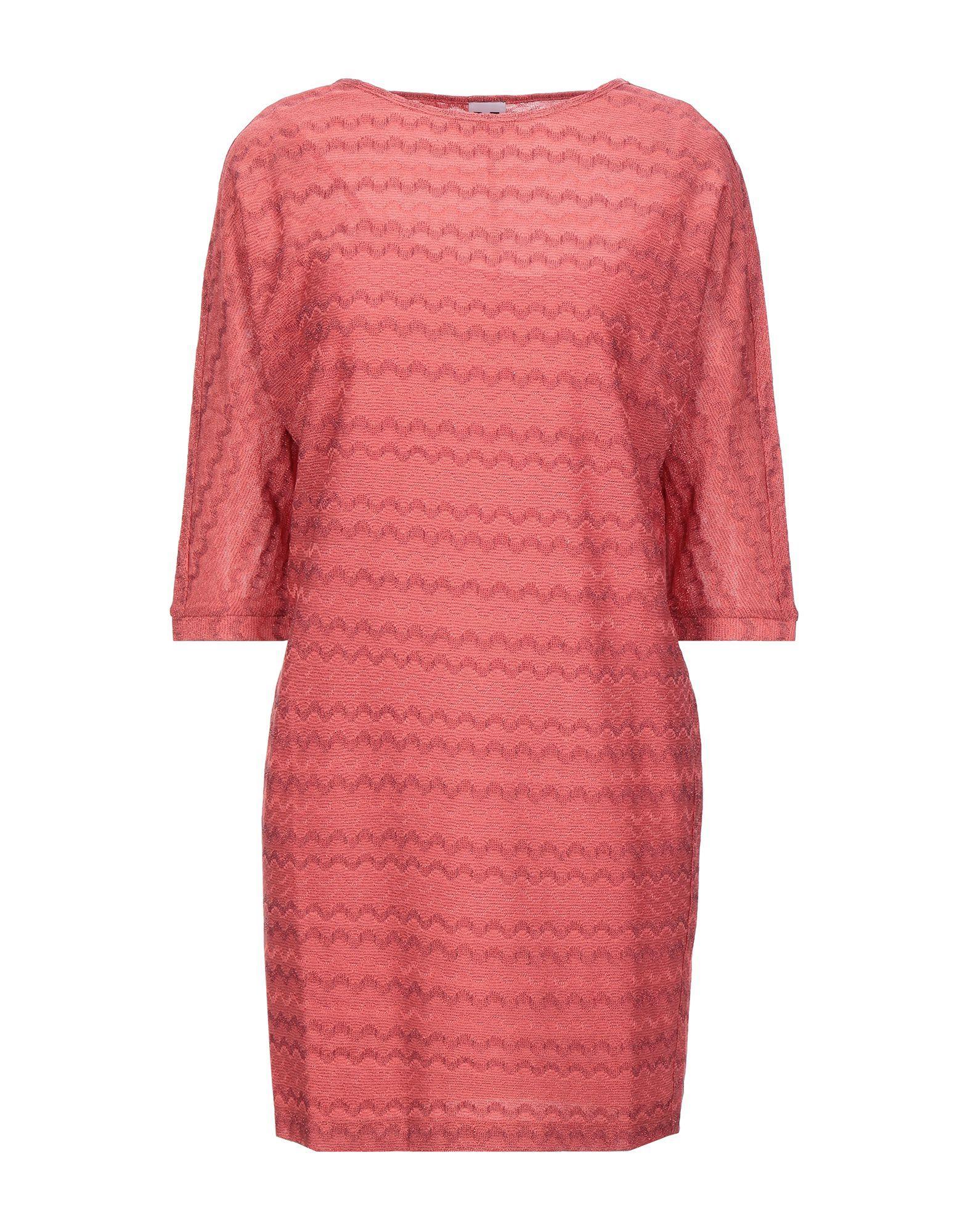 Короткое платье  - Фиолетовый цвет