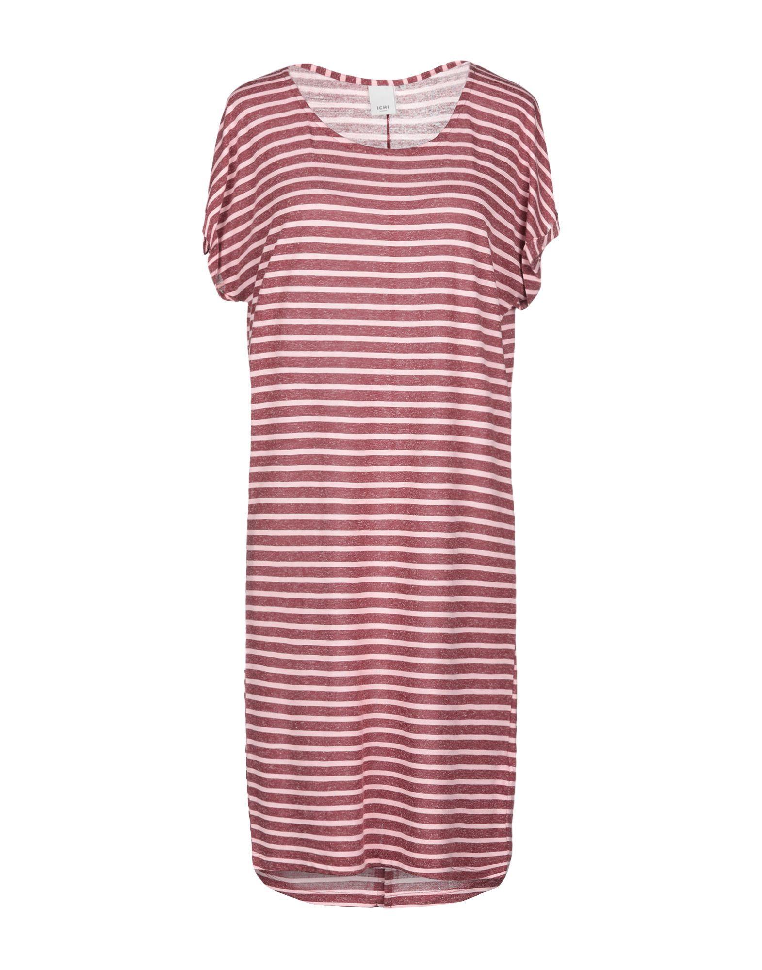 Короткое платье  Коричневый цвета