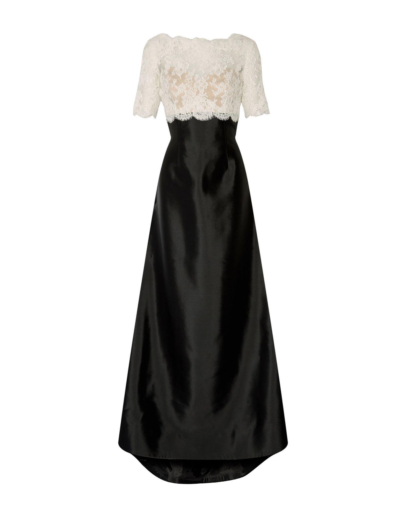 Длинное платье  Белый цвета