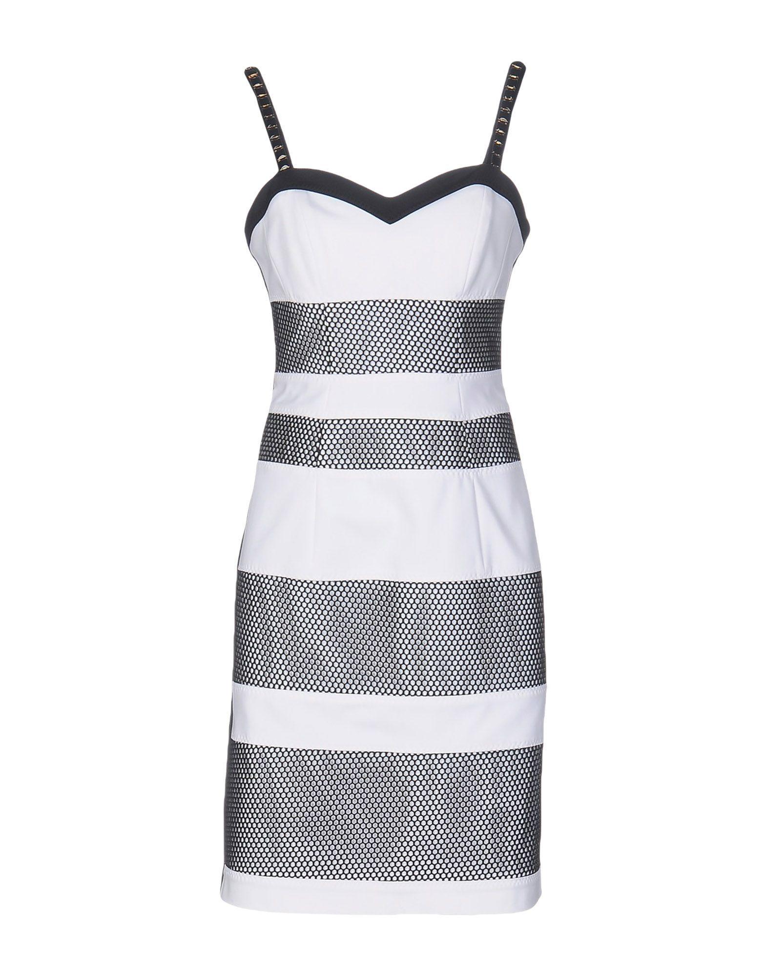 Короткое платье  Белый цвета
