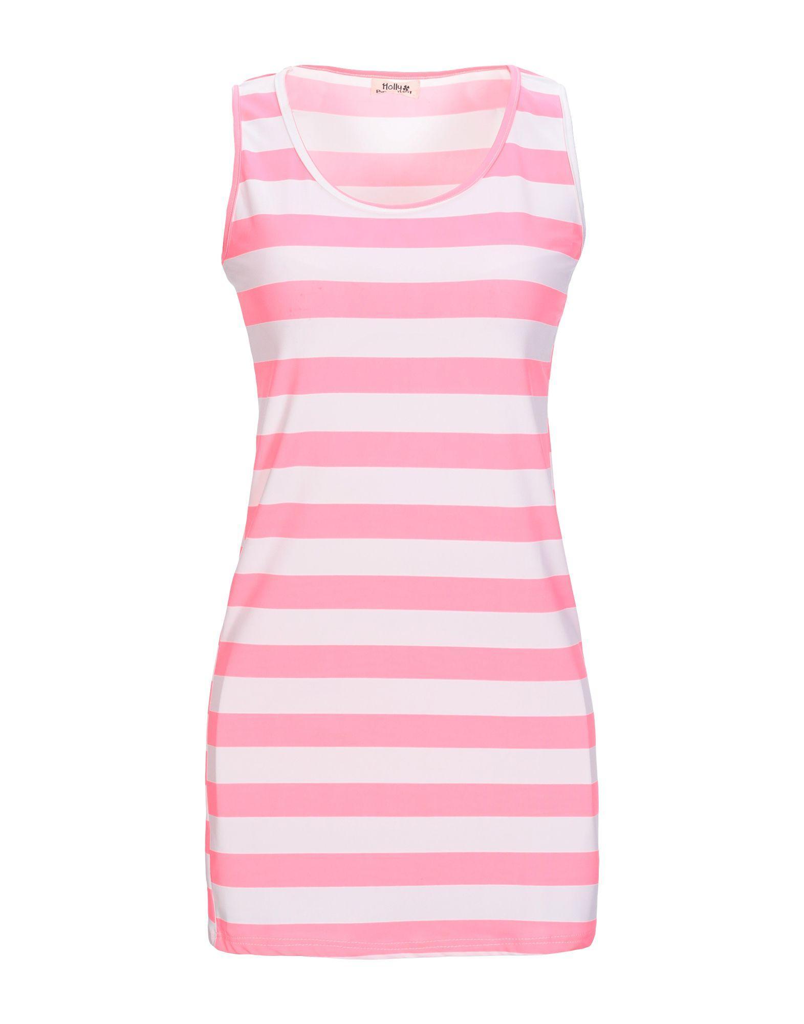 Короткое платье  Розовый цвета