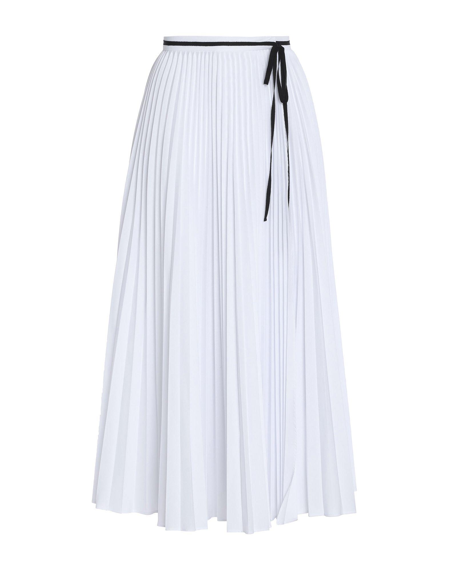 Длинная юбка  - Белый цвет