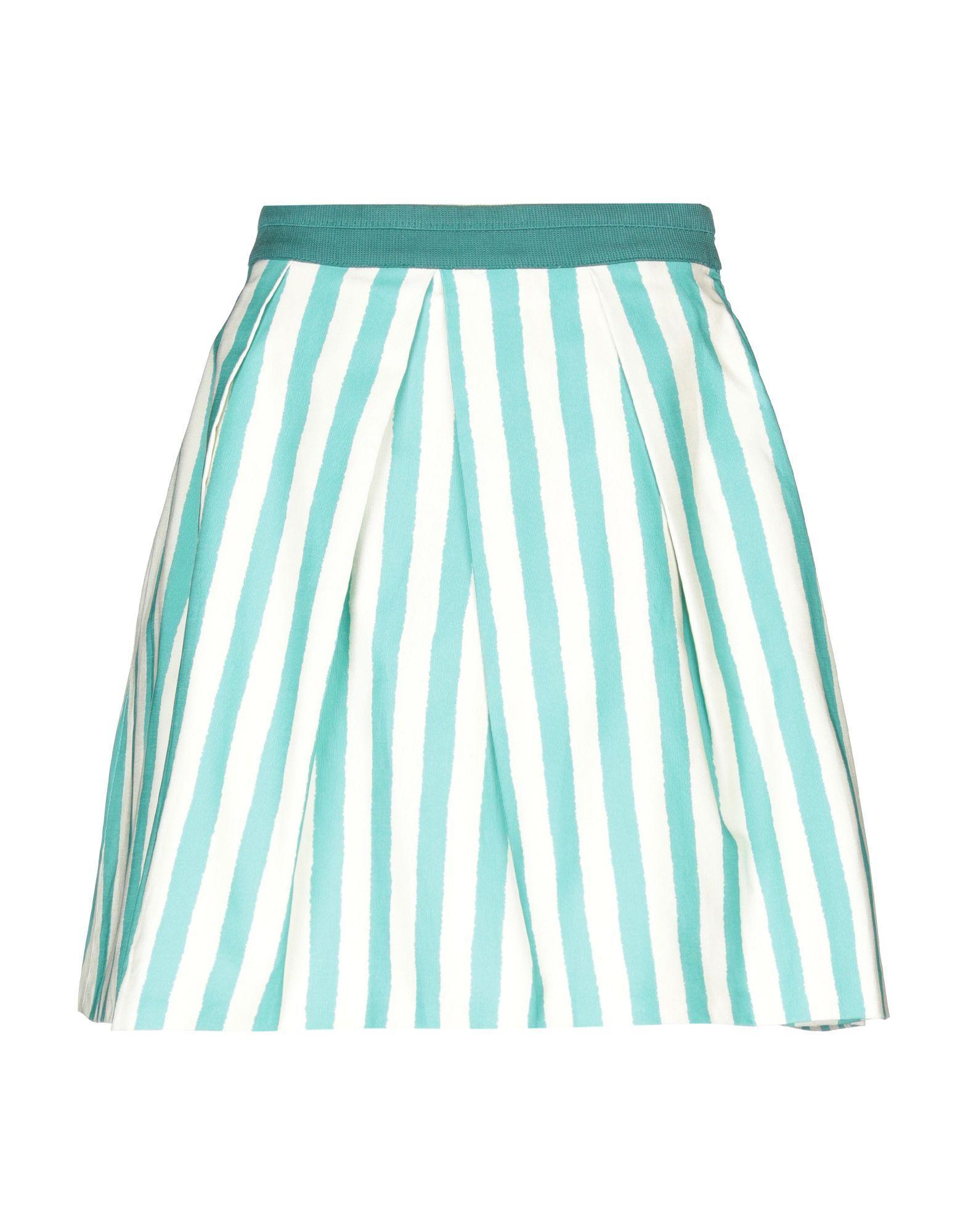 Юбка до колена  - Голубой цвет
